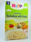 HiPP Гречневая с фруктами, 250 г