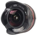 Samyang 7.5mm f/3.5 UMC Fish-eye Micro 4/3