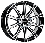 Borbet CW 1 8x17/5x120 D72.5 ET35 Black Polished