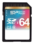 Silicon Power SDXC UHS Class 1 Class10 64GB