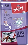 BELLA baby Happy 5 JUNIOR (12-25 кг) Big Pack 58 шт