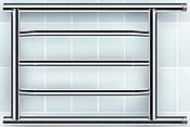 Ростела Октавия D32 500x600 3 перекладины