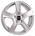 Tech-Line 539 6x15/5x100 D57.1 ET38 Silver