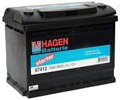Hagen R+ (74Ah) 57412
