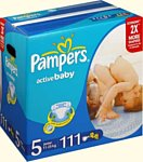 Pampers Active Baby 5 Junior (11-25 кг) Mega Pack 111 шт