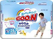 GOON PREMIUM XXL boy (13-25 кг) Mega Pack 28 шт