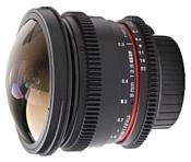 Samyang 8mm T3.8 AS IF UMC Fish-eye CS II VDSLR Canon EF