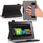 MoKo Amazon Kindle Fire Slim Cover Black