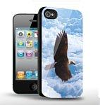 Stikk Белоголовый орлан в небе для iPhone 4/4s (SXT172)