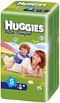 HUGGIES Ultra Comfort 5 (12-22 кг) 15 шт