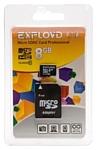 EXPLOYD microSDHC Class 10 8GB + SD adapter