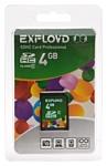 EXPLOYD SDHC Class 4 4GB