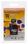 EXPLOYD microSDHC Class 10 32GB + SD adapter