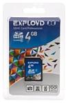 EXPLOYD SDHC Class 6 4GB