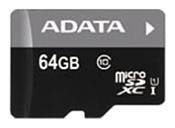 ADATA Premier microSDXC Class 10 UHS-I U1 64GB