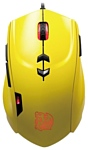 Tt eSPORTS by Thermaltake Theron Gaming Mouse Yellow USB