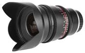 Samyang 16mm T2.2 ED AS UMC CS VDSLR Sony-E