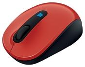 Microsoft Sculpt Mobile Mouse Red USB