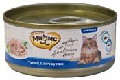 Мнямс (0.07 кг) 1 шт. Консервы для кошек Тунец с анчоусами в нежном желе