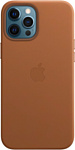 Apple MagSafe Leather для iPhone 12 Pro Max (золотисто-коричневый)
