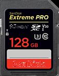 Sandisk Extreme Pro V30 SDXC 128GB (SDSDXXG-128G-GN4IN)