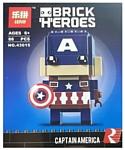 Lepin Brick Heroes 43015 Капитан Америка
