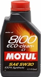 Motul 8100 Eco-clean+ 5W30 C1 1л