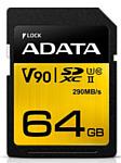 ADATA Premier ONE SDXC Class 10 UHS-II U3 64GB