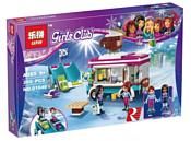 Lepin Girls Club 01048 Фургончик по продаже горячего шоколада