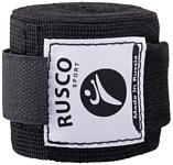 Rusco Sport Эластичный бинт для бокса (4.5 м, черный, 2 шт) RSC-12655
