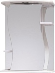 Onika Шкаф с зеркалом Лилия 55.01 левый (белый) (205518)