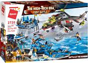 Qman The high-tech Era 2720 Катер, вертолет - битва