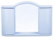Berossi Шкаф с зеркалом Argo (светло-голубой)