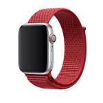 Apple из плетеного нейлона 44 мм (красный) MU972