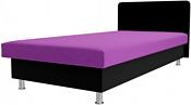 Лига диванов Мальта 200x80 101745 (фиолетовый/черный)