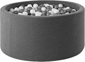 Misioo 115x50 600 шаров (серый)