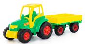 Полесье Чемпион трактор с прицепом 0551