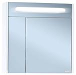 Бриклаер Шкаф с зеркалом Палермо 74 (белый глянец)