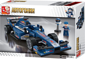 SLUBAN Формула1 M38-B0353 Cиний гоночный автомобиль
