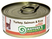 Nature's Protection Консервы Neutered Turkey, Salmon & Rice (0.1 кг) 1 шт.