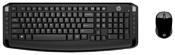 HP 3ML04AA Wireless Keyboard and Mouse 300 Black USB