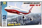 Звезда Пассажирский авиалайнер Боинг 747-8