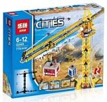 Lepin City 02069 Большой строительный кран