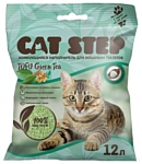 Cat Step Tofu Green Tea растительный комкующийся 12л