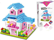 YZ-Diamond YZ038 Blue Heart Villa