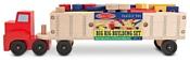Melissa & Doug Classic Toy 2758 Big Rig Building Truck Wooden Play Set