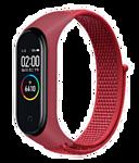 Miru Mi для Xiaomi Mi Band 5 (нейлон, красный)