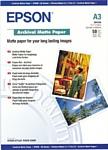 Epson Archival Matte Paper A3 192г/м2 50л (C13S041344)