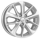 K&K КС658 (16_Corolla E18) 6.5x16/5x114.3 D60.1 ET45 сильвер
