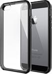 Spigen Ultra Hybrid для iPhone 5/5S черный